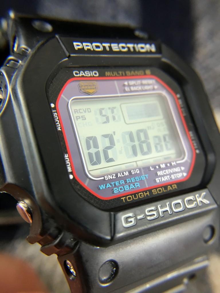 Casio G Shock Gwm5610 Atomic Solar Hands On Review 60clicks