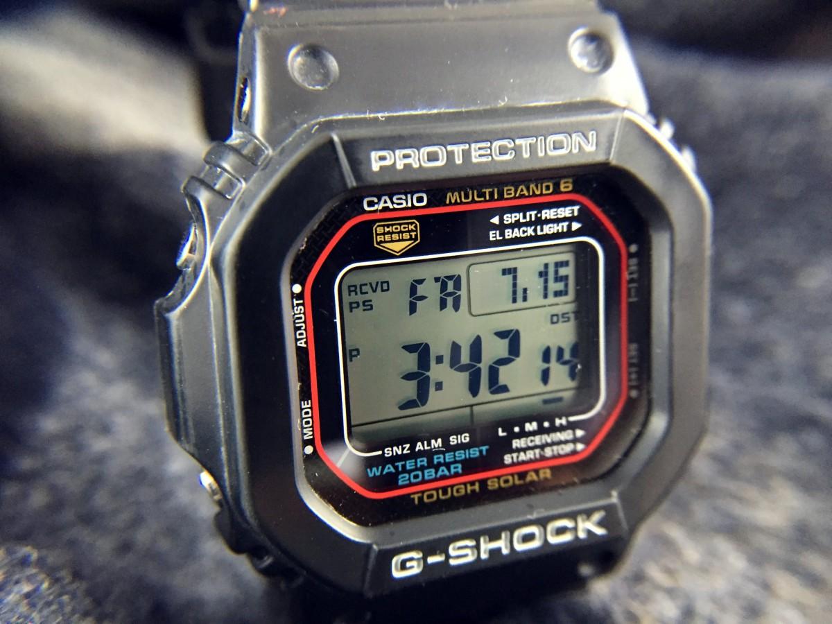 22f9125fd Casio G-Shock GWM5610 Atomic Solar: Hands-On Review — 60Clicks