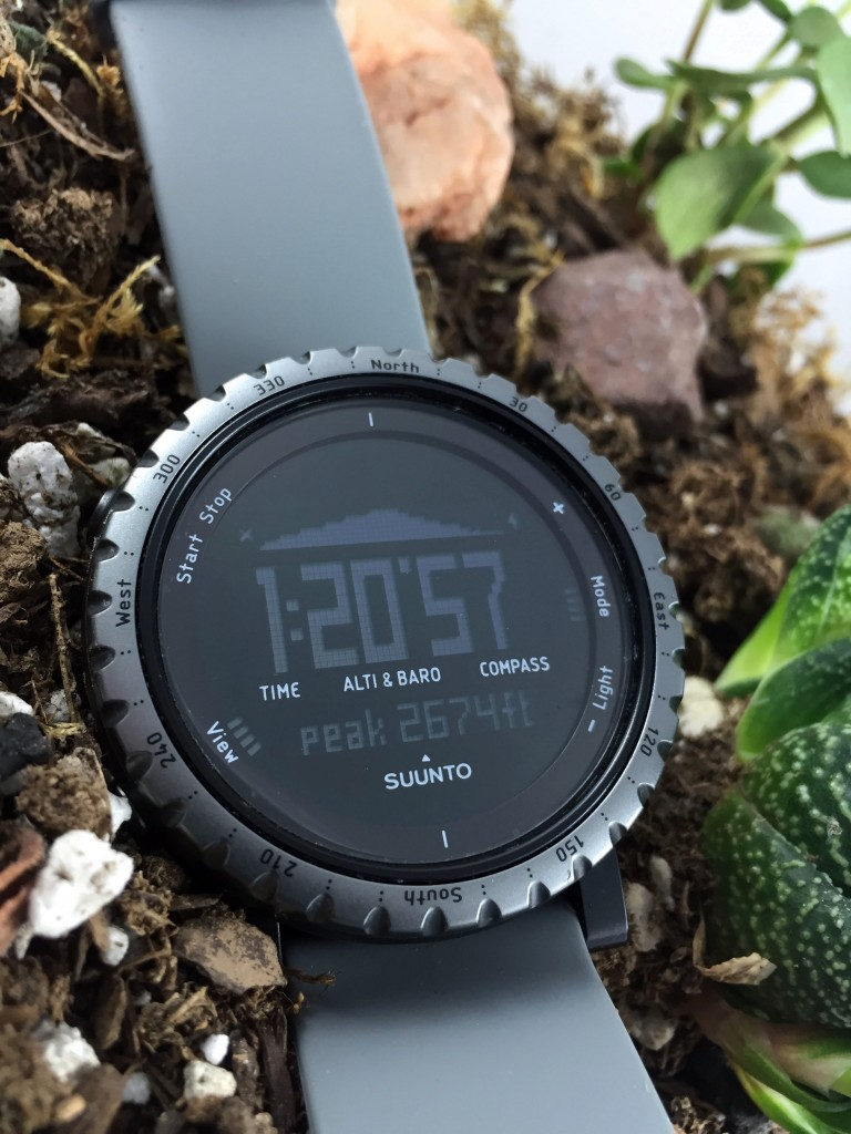 Suunto Core Altitude Dusk Gray Hands On Review 60clicks Ultimate Black Logbook Mode