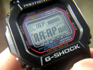 Casio G-Shock LCD Display Test Mode