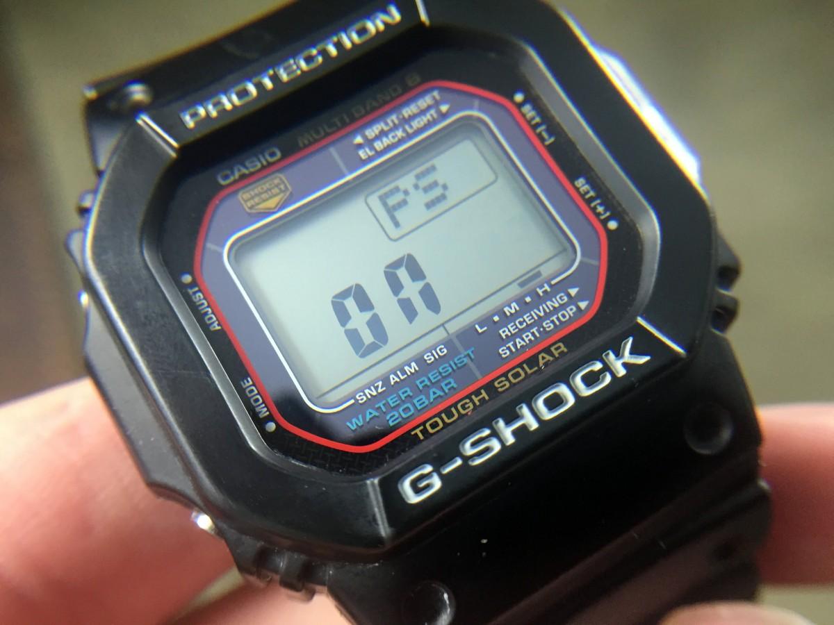 Casio G Shock Secret Features And Hidden Screens 60clicks Gshock Rangeman Original Gw 9400 1adr Gw9400 Power Saving Mode