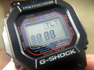 Casio G-Shock Tilt Sensor Diagnostic Mode