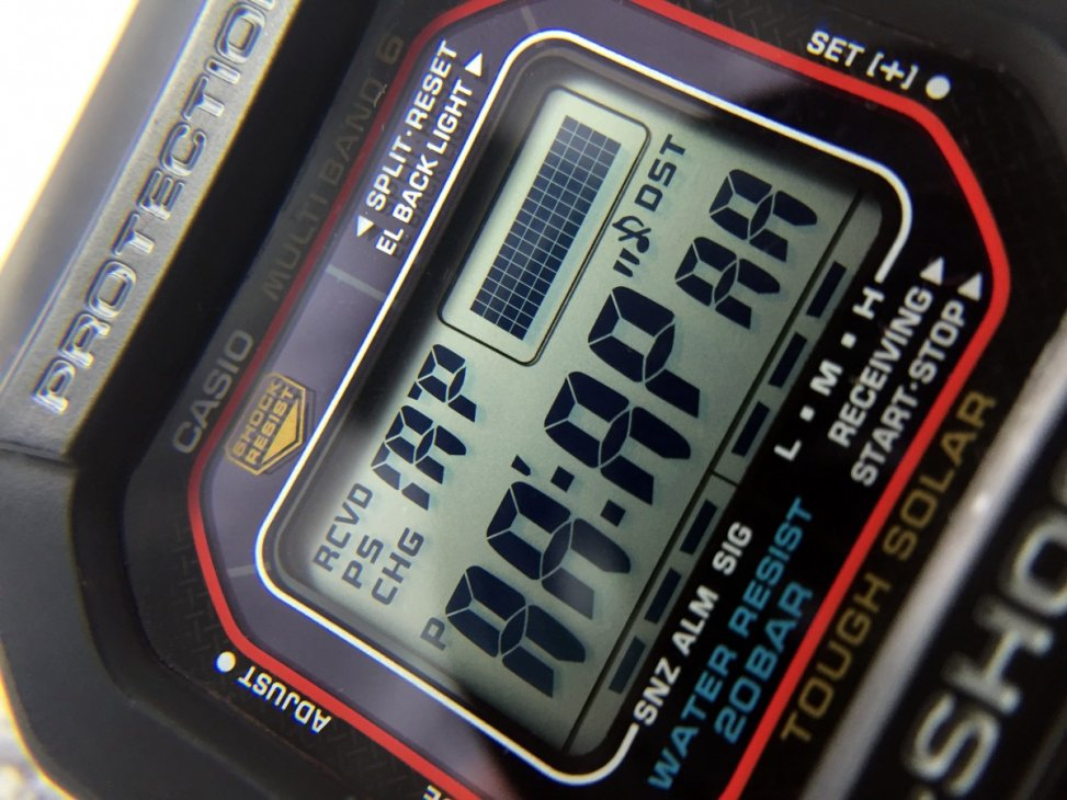 Casio 5600 LCD Test Screen