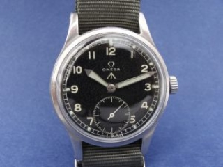 British WW2 W.W.W. Watch Produced by Omega