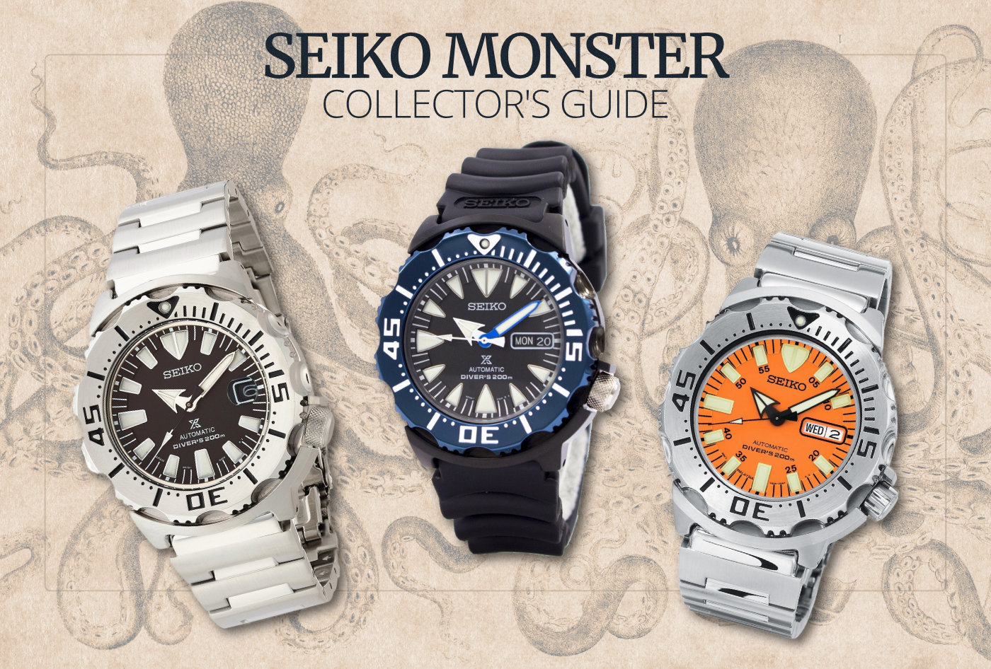 The Ultimate Seiko Monster Collector's Guide – 60CLICKS