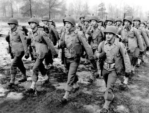 US Army training in Maryland during WW2