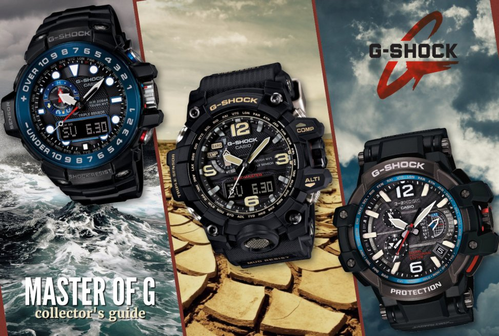Casio G-Shock Collector's Guide: Master-of-G