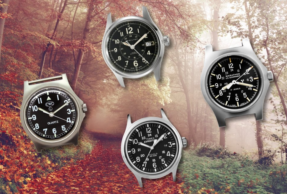 Top 5: Our Favorite Modern Field Watches