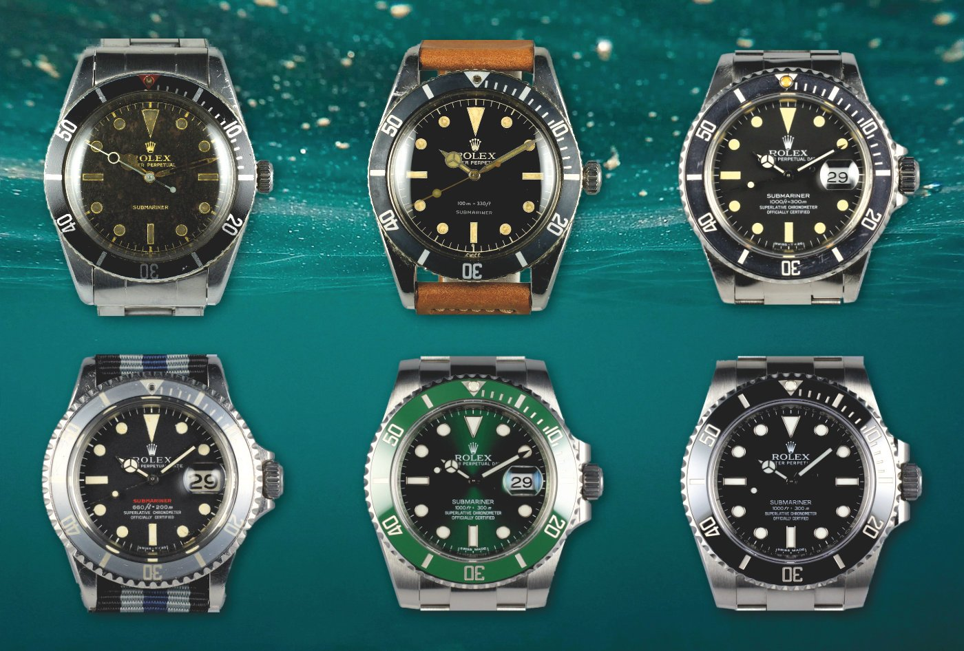 Modern Icons A Rolex Submariner Collector\u0027s Guide \u2014 60Clicks