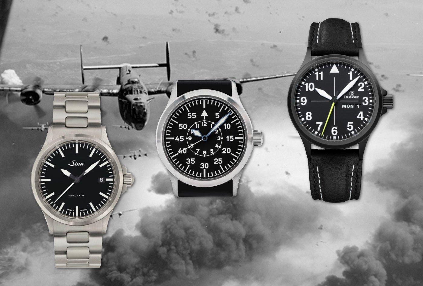 38706993592 Top 5  German-Made Flieger Pilot Watches — 60Clicks
