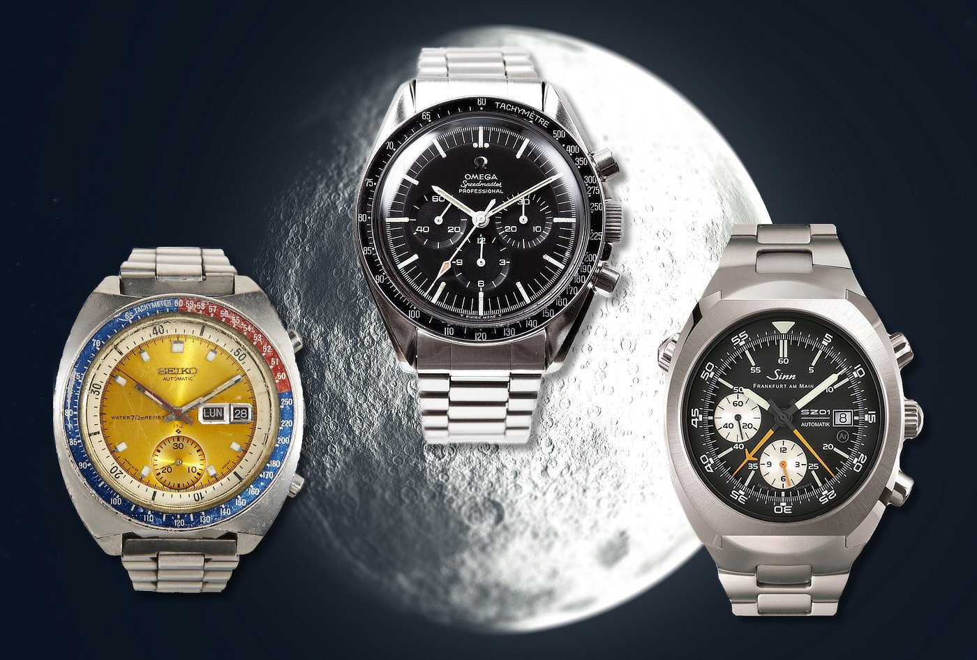 Top 5 Moon And Space Watches 60clicks