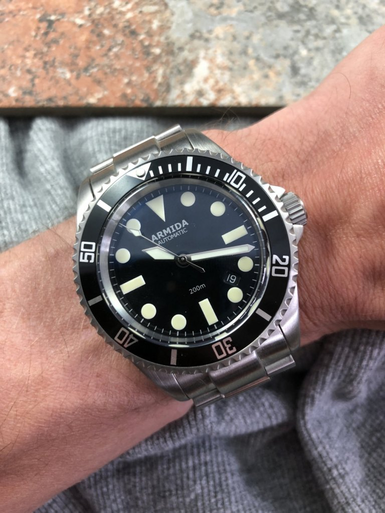Armida A2 on the Wrist