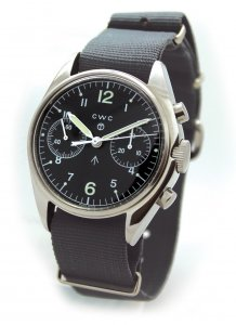CWC Pilot Chronograph Re-Issue