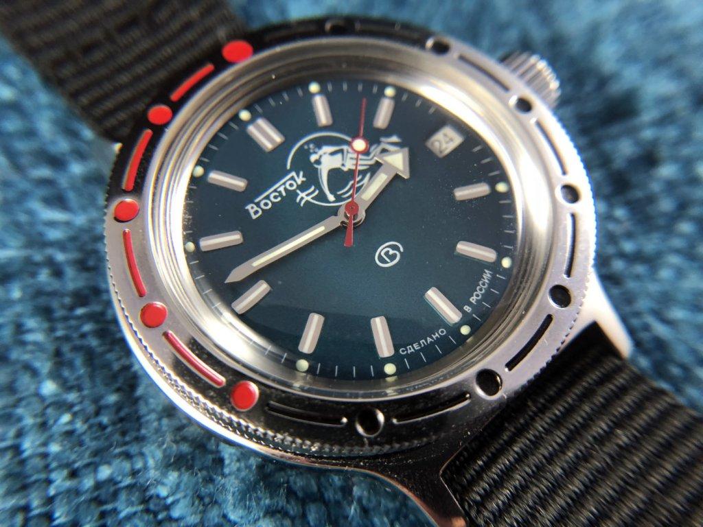 Vostok Amphibia Dial