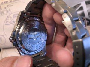 Breitling Aerospace Evo Caseback