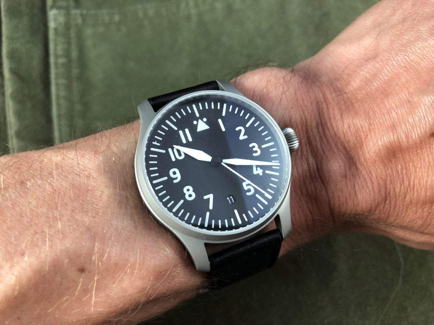 Stowa Flieger Verus 40 On Wrist
